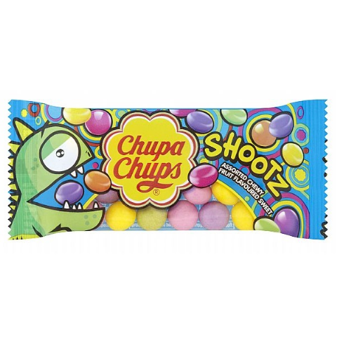 Shootz Chupa Chups Fruit Flavoured Sweets (1 Supplied) Bag 25g